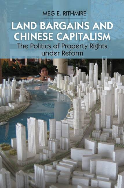 Book cover of Land Bargains and Chinese Capitalism